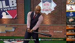Cliff Floyd, former MLB player & current MLB Network Analyst