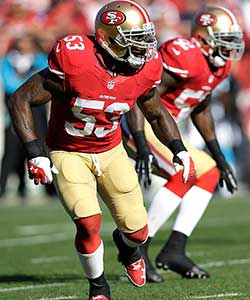 Patrick Willis, former NFL linebacker for the San Francisco 49ers
